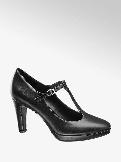 Graceland Zwarte pump T-band