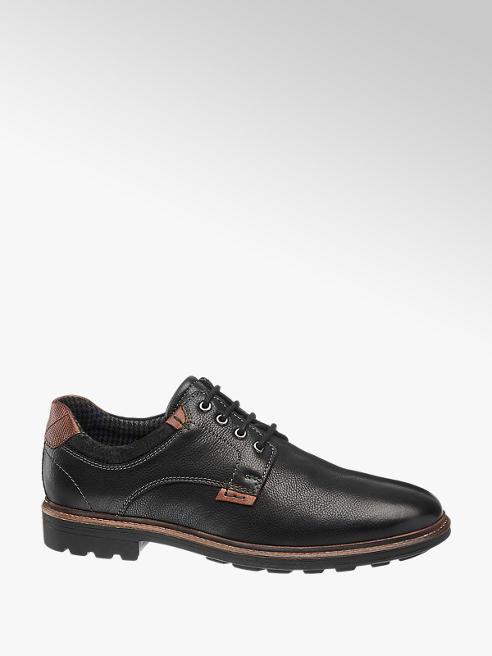 AM SHOE Mens Casual Lace-up Shoe