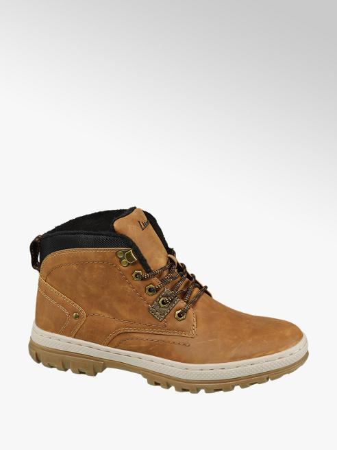 Landrover Bruine halfhoge schoen vetersluiting