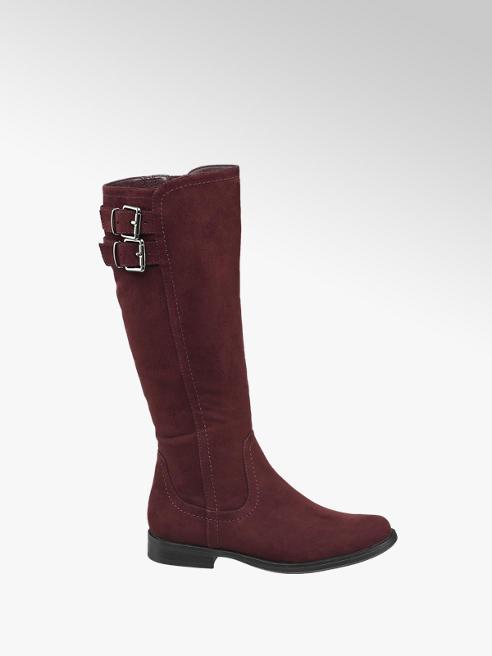Graceland Junior Girl Burgundy Long Leg Boots