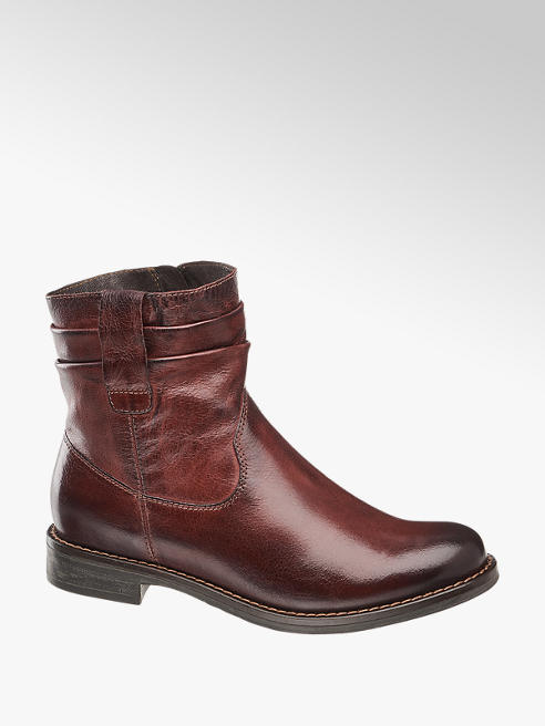 5th Avenue Forede Læderboots