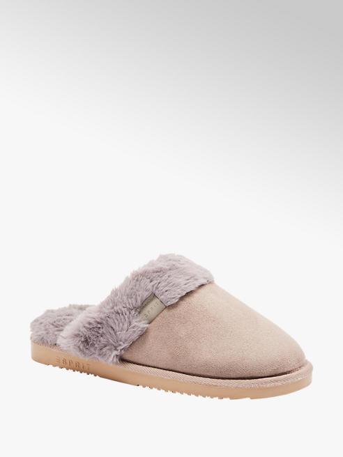 Casa mia Zwarte halfhoge pantoffel