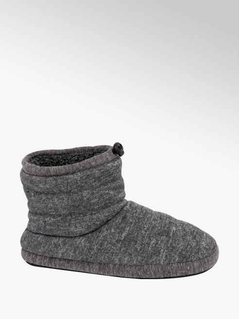 Casa mia Mens Slipper Boots