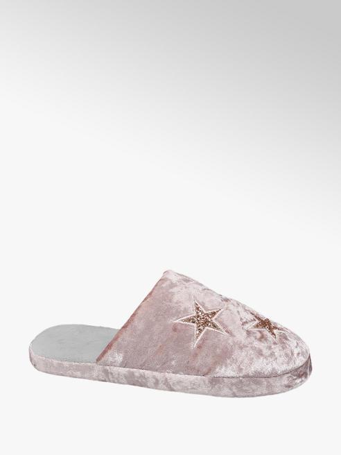 Casa mia Roze instap pantoffel