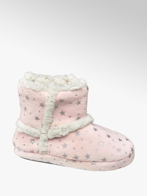 Cupcake Couture Roze pantoffel warmgevoerd