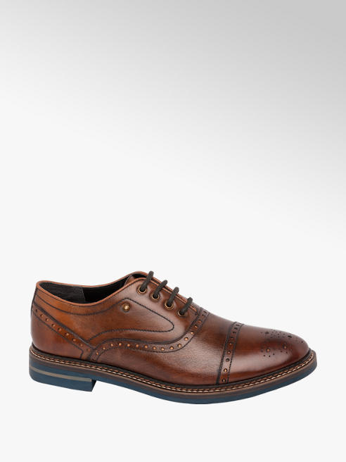 Borelli London Collection Mens Formal Lace-up Shoes