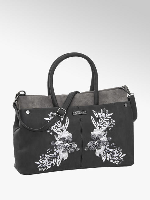 Catwalk Embroidered Tote Bag