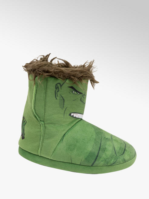 Marvel Avengers Junior Boys Hulk Slipper Boots