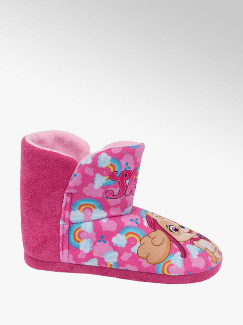 Girls Paw Patrol 'Skye' Slipper Boots