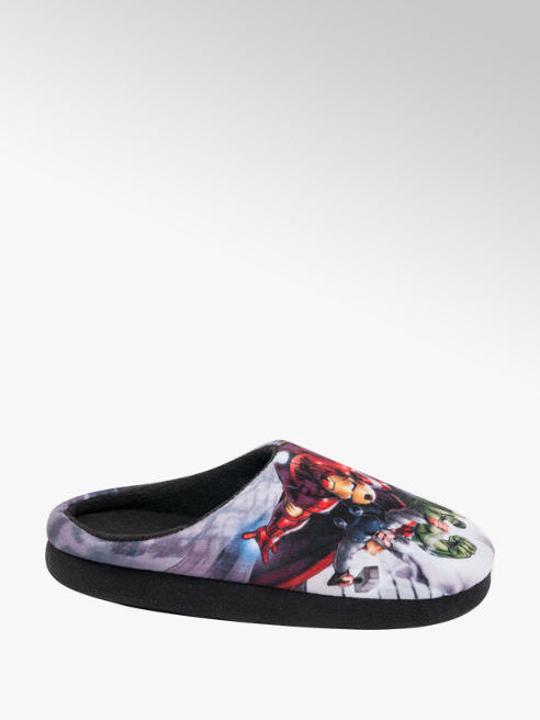 Marvel Avengers Junior Boy Avengers Mule Slippers