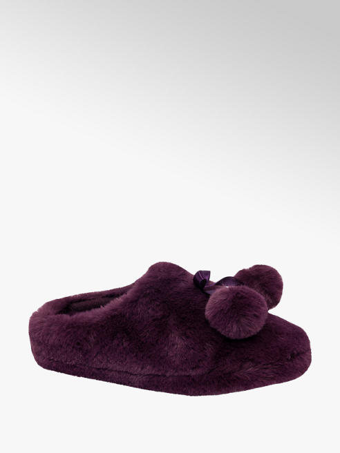 Ladies Super Soft Mule Slippers