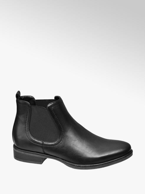 Graceland Zwarte chelsea boot elastiek
