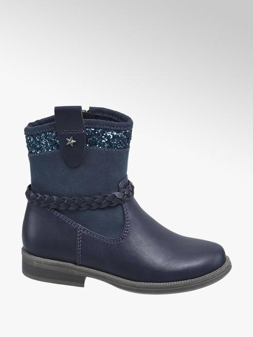 Cupcake Couture Blauw laarsje glitters