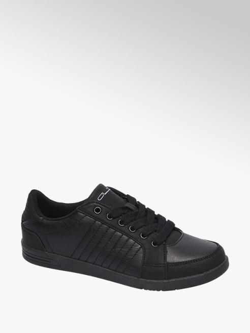 Graceland Zwarte sneaker stiksels