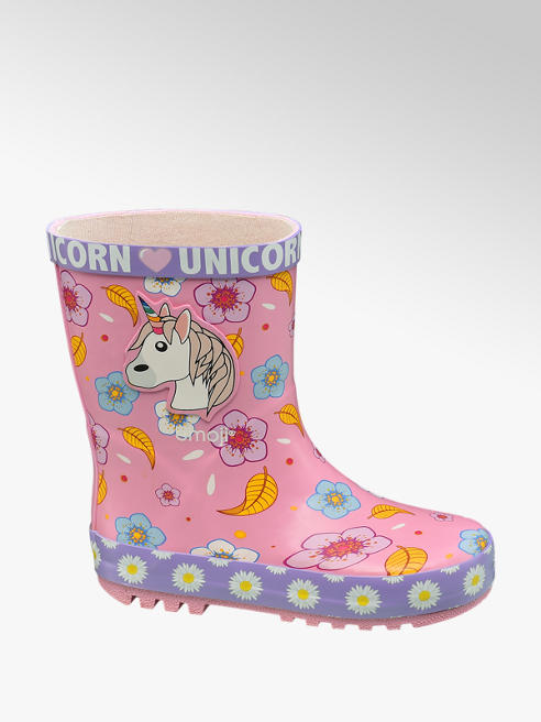 Emoji Unicorn Wellington Boots