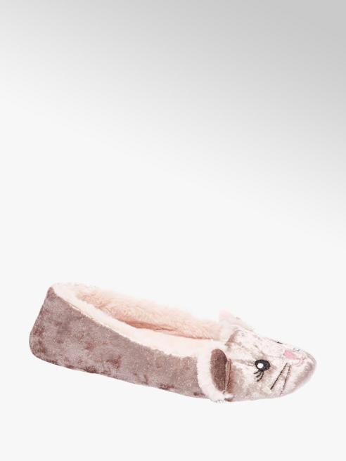 Casa mia Fluwelen pantoffel