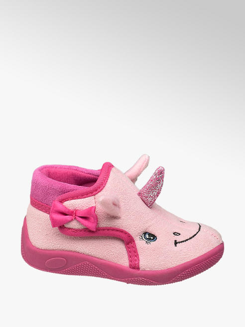 Cupcake Couture Roze pantoffel velcro