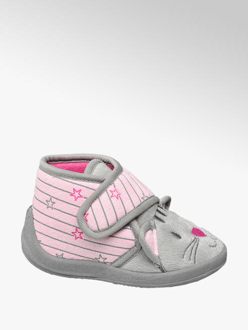 Cupcake Couture Roze velcro pantoffel