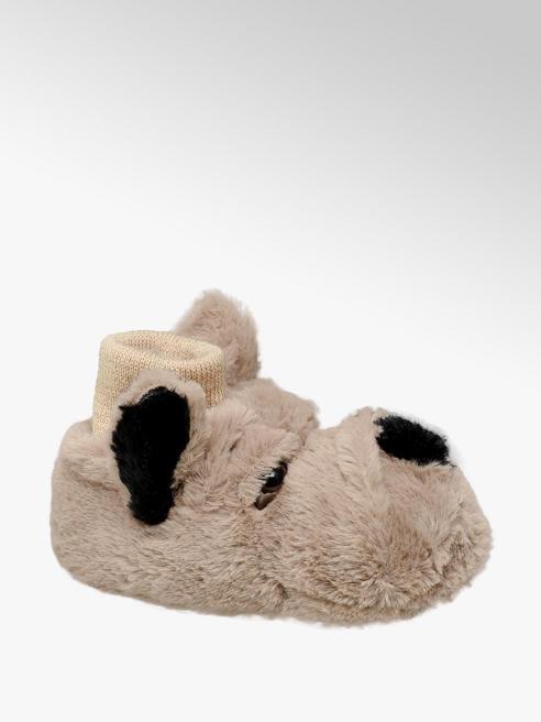 Pluche pantoffel hond