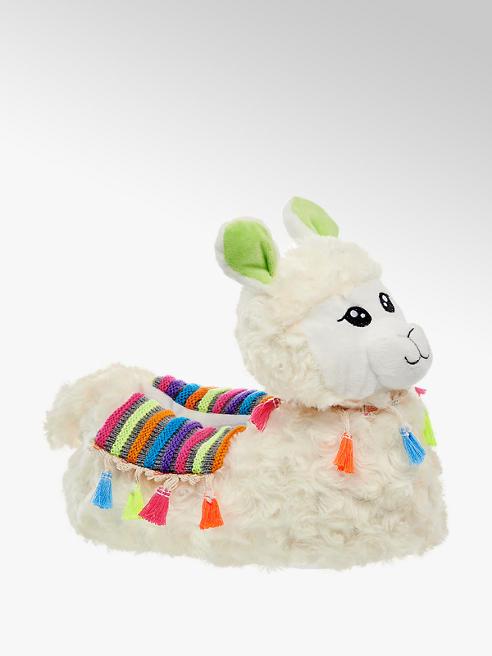 Casa mia Lichtbeige alpaca pantoffel