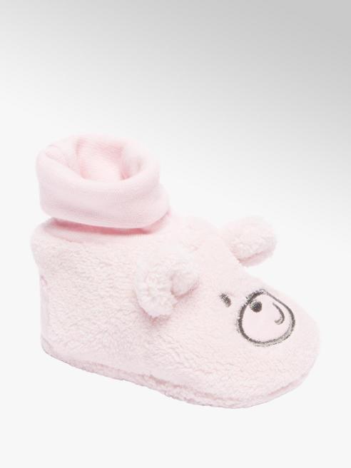 Roze babyslofje