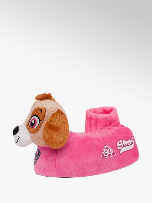Girls Skye Paw Patrol Novelty Slippers