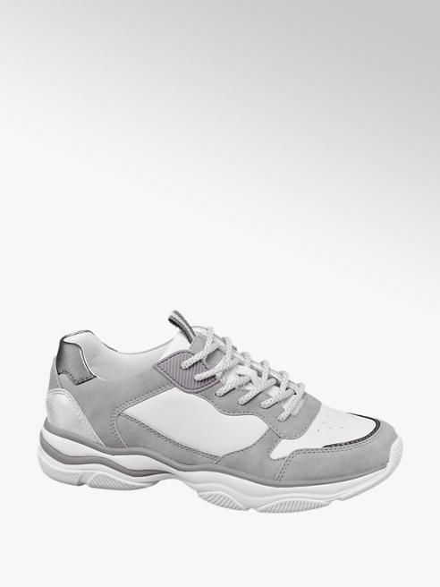 Graceland Grijze chunky sneaker