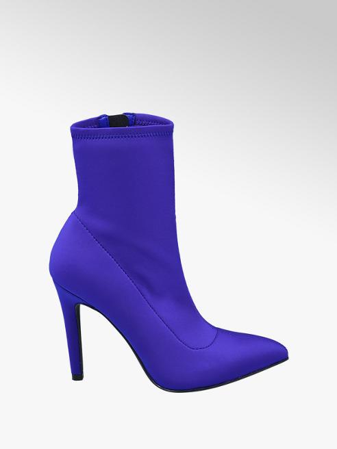 Graceland Blauwe sockboot elegant