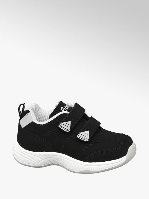 Bobbi-Shoes Sneaker nero con velcro
