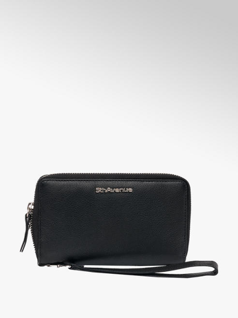5th Avenue Ladies Leather Purse with Phone Compartment