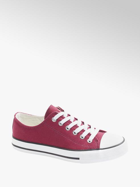 Vty Bordeaux canvas sneaker