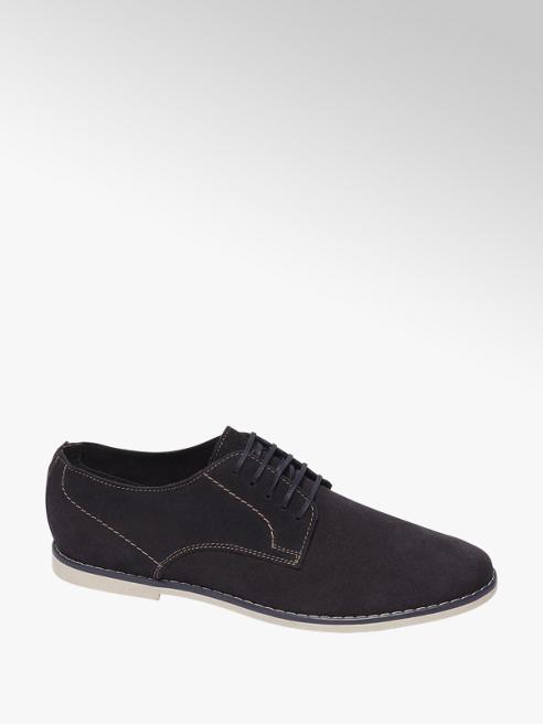 AM shoe Blauwe geklede schoen