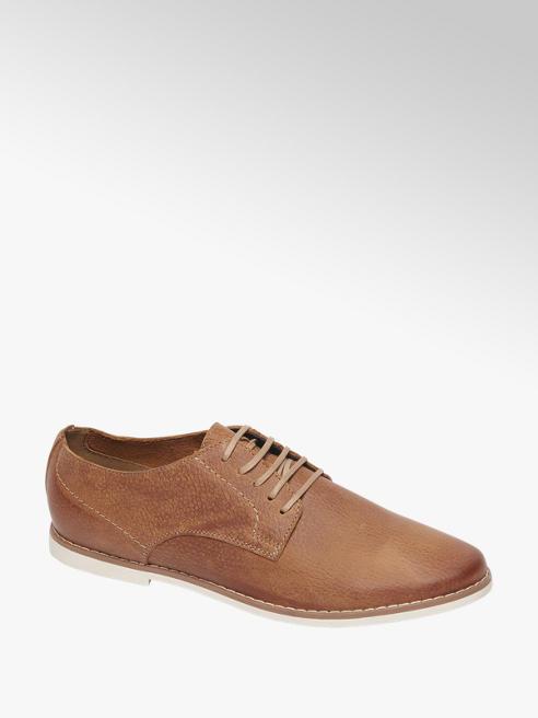 AM shoe Bruine geklede schoen