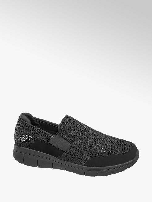 Skechers Zwarte instapper light weight