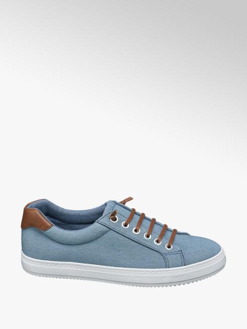 Vty Blauwe jeans sneaker slip on