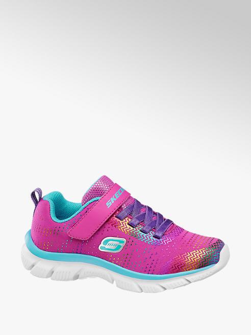 Skechers Roze sneaker elatische veter