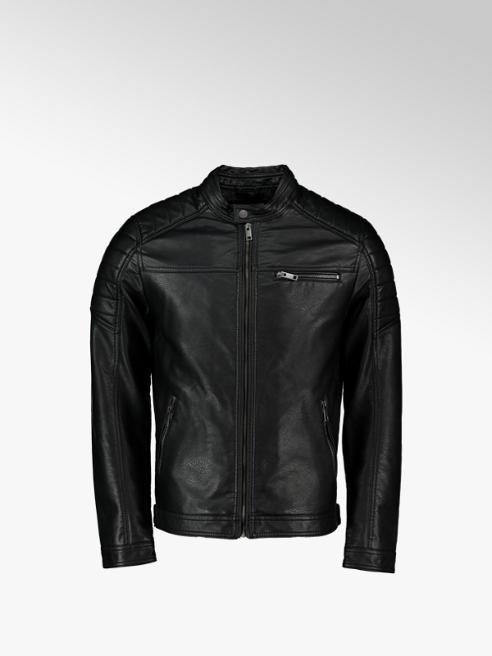 Jack + Jones giacca di pelle finta uomo