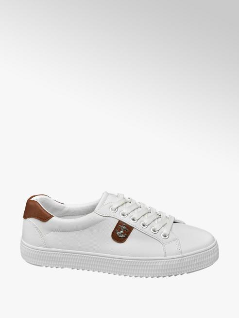 Graceland Witte sneaker anker