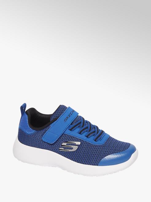 Skechers Blauwe sneaker elastische veter
