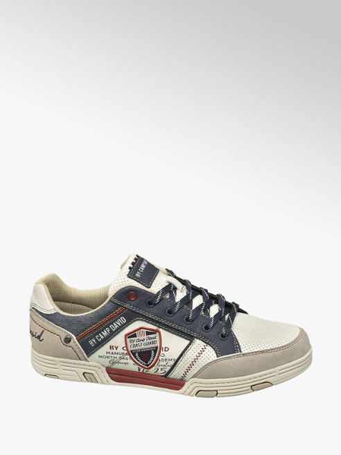 Venture by Camp David Off-white sneaker vetersluiting