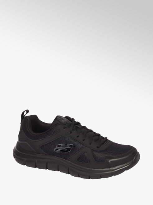 Skechers Zwarte sneaker vetersluiting