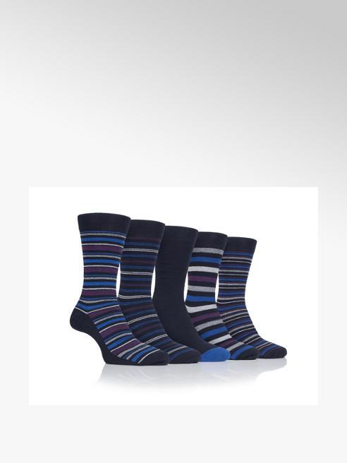 Farrah Mens 5 Pack Farrah Classic Ankle Socks (UK 6-11)