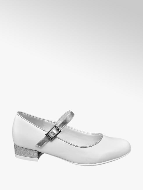Graceland Witte ballerina gespsluiting