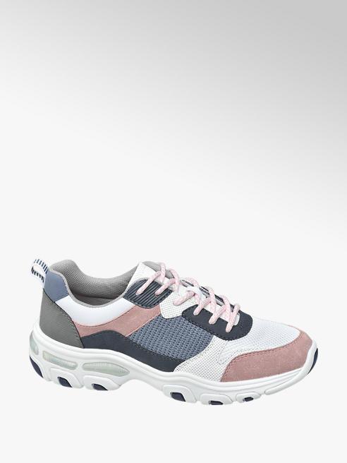 Graceland Multi gekleurde chunky sneaker