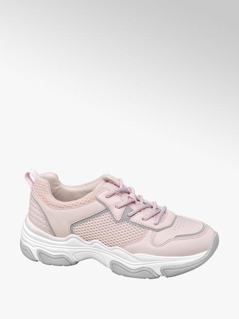 Graceland Roze chunky sneaker