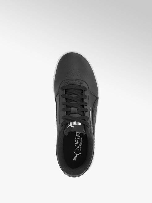 Damen Leder Sneakers CARINA von Puma in schwarz deichmann
