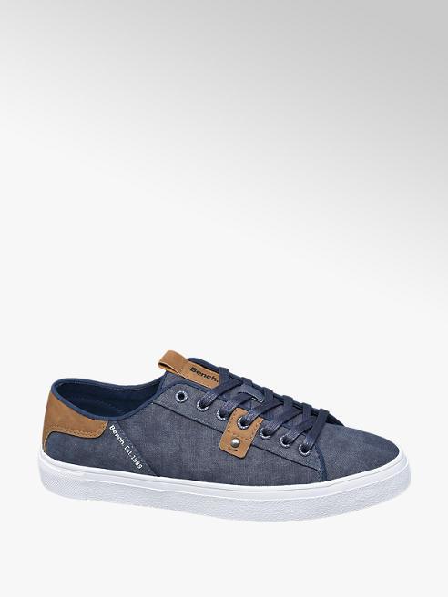 Bench Donkerblauwe sneaker vetersluiting