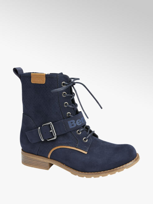 Graceland Blauwe veterboot