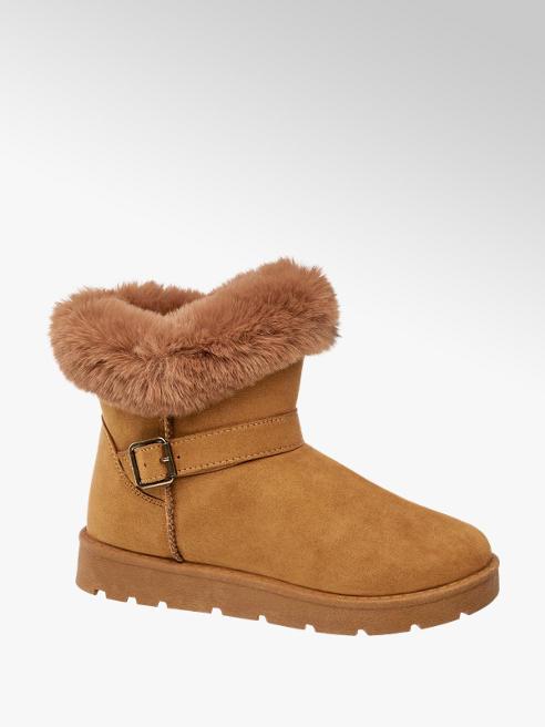 Graceland Tan Fur Lined Boots
