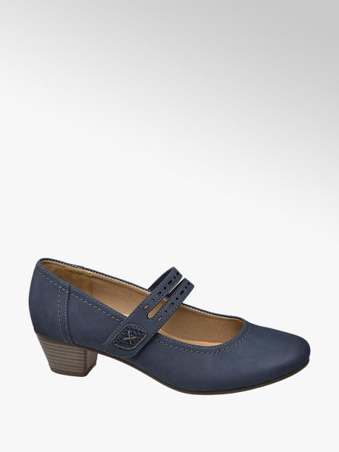 Easy Street Mary Jane Pumps Bredde G